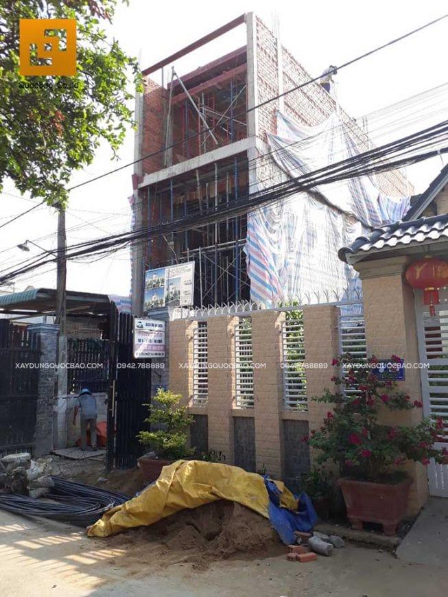 Thi công nhà phố 4 tầng hiện đại tại Đồng Nai - Ảnh 12
