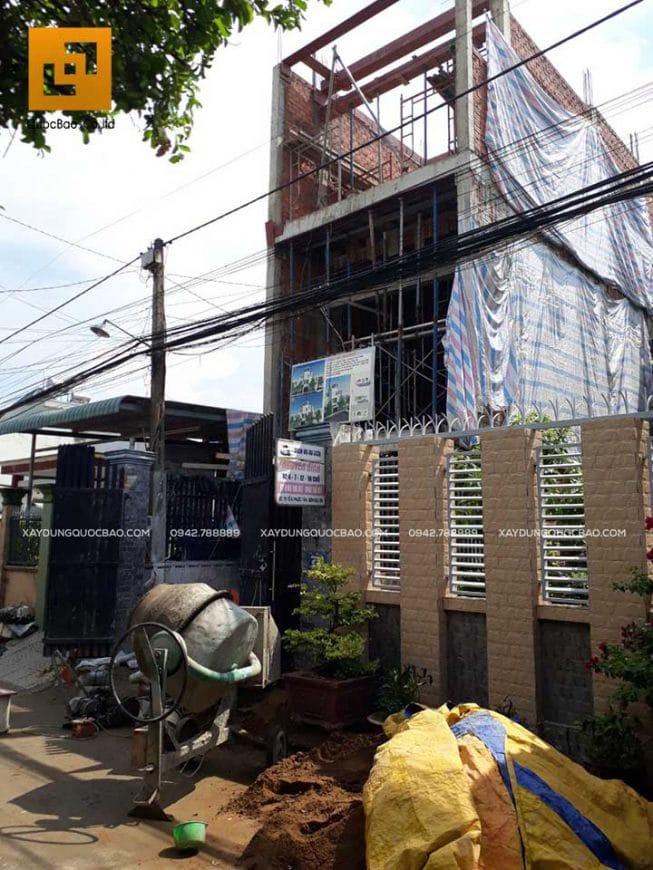 Thi công nhà phố 4 tầng hiện đại tại Đồng Nai - Ảnh 5
