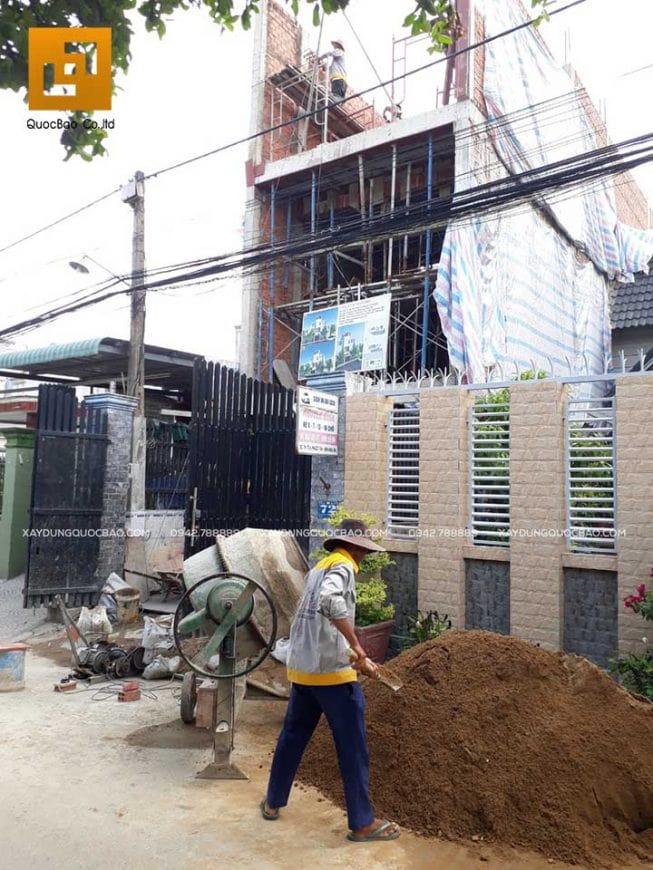 Thi công nhà phố 4 tầng hiện đại tại Đồng Nai - Ảnh 7
