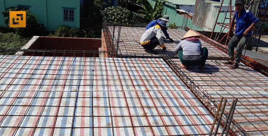 Thi công cột, dầm sàn tại Nhơn Trạch - Ảnh 7