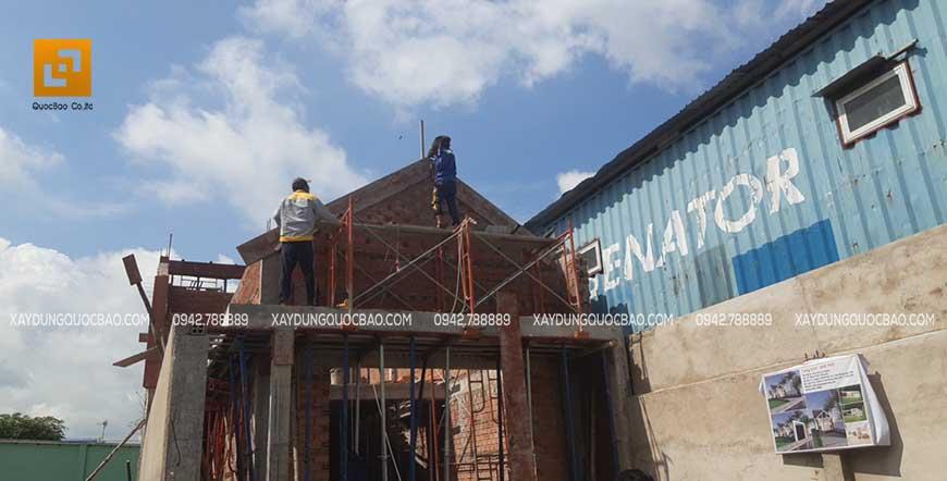Thi công nhà phố tại Nhơn Trạch - Ảnh 2