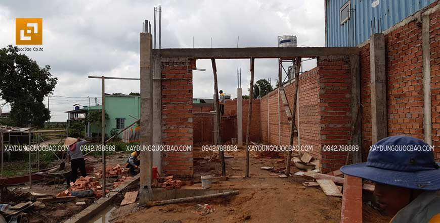 Thi công cột, dầm sàn tại Nhơn Trạch - Ảnh 6