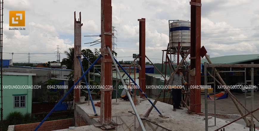 Thi công cột, dầm sàn tại Nhơn Trạch - Ảnh 10
