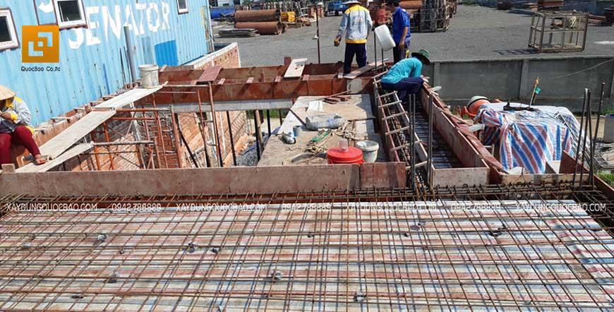 Thi công cột, dầm sàn tại Nhơn Trạch - Ảnh 9