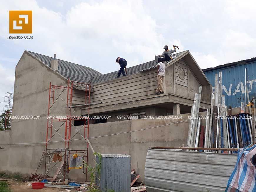Công tác thi công lợp mái ngói