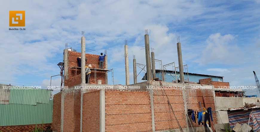 Thi công cột, dầm sàn tại Nhơn Trạch - Ảnh 11