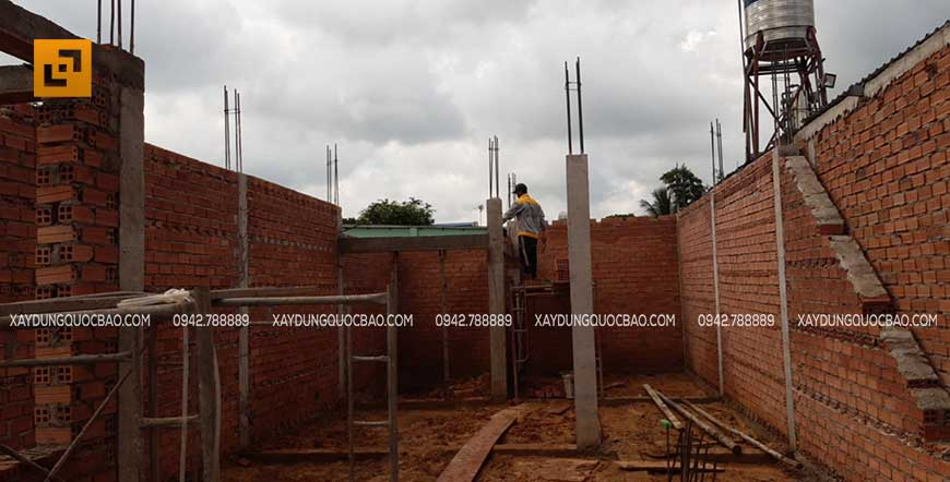 Thi công cột, dầm sàn tại Nhơn Trạch - Ảnh 4