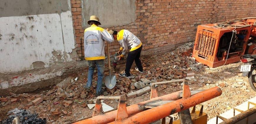 Thi công nhà phố gia đình chú Bốn cô Loan tại Biên Hòa - Đồng Nai - Ảnh công trình 3