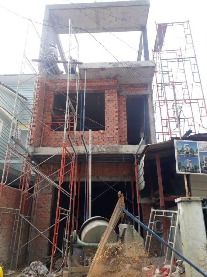 Thi công nhà phố gia đình chú Bốn cô Loan tại Biên Hòa - Đồng Nai - Ảnh công trình 12
