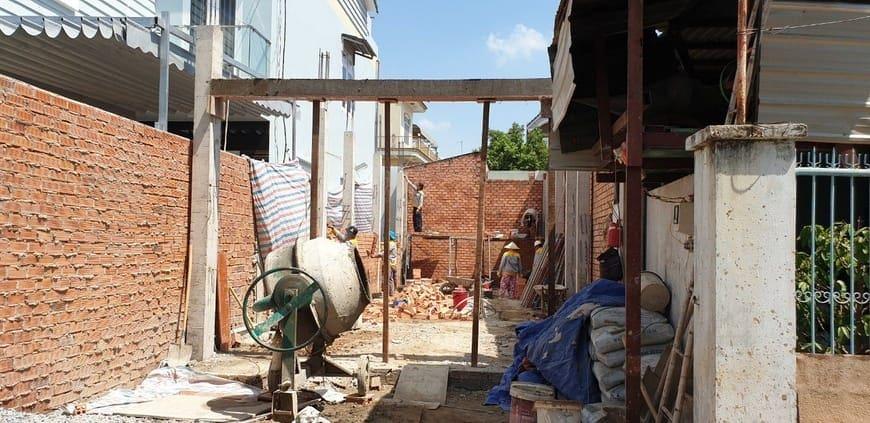 Thi công nhà phố gia đình chú Bốn cô Loan tại Biên Hòa - Đồng Nai - Ảnh công trình 7