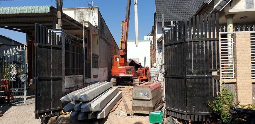 Thi công nhà phố gia đình chú Bốn cô Loan tại Biên Hòa - Đồng Nai - Ảnh công trình 2
