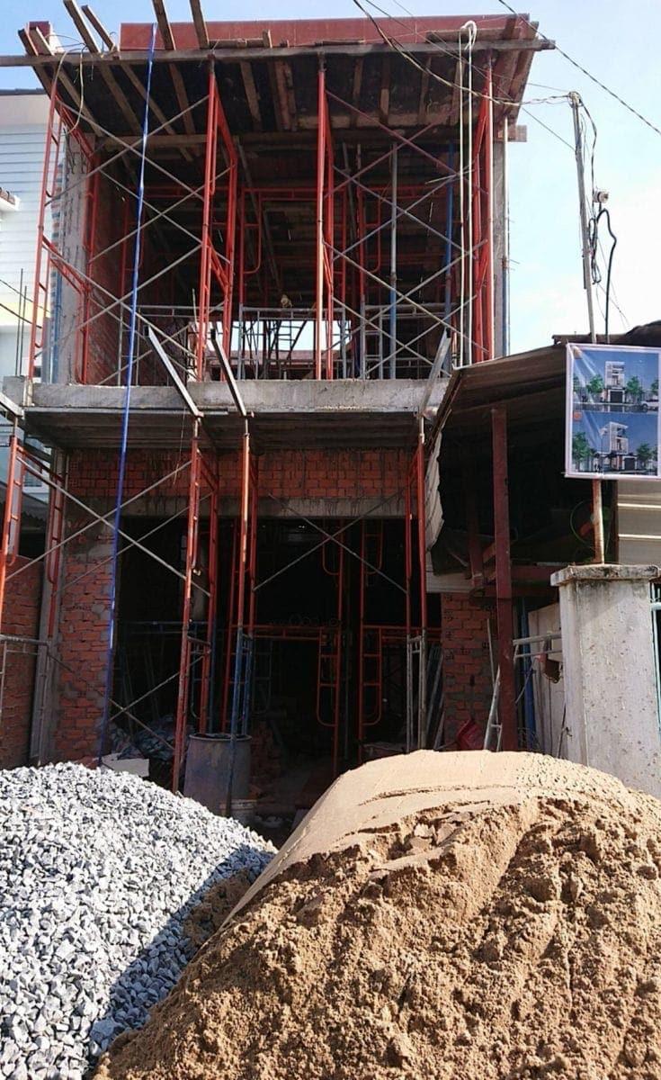 Thi công nhà phố gia đình chú Bốn cô Loan tại Biên Hòa - Đồng Nai - Ảnh công trình 10