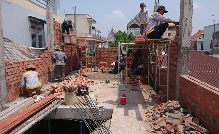 Thi công nhà phố gia đình chú Bốn cô Loan tại Biên Hòa - Đồng Nai - Ảnh công trình 11