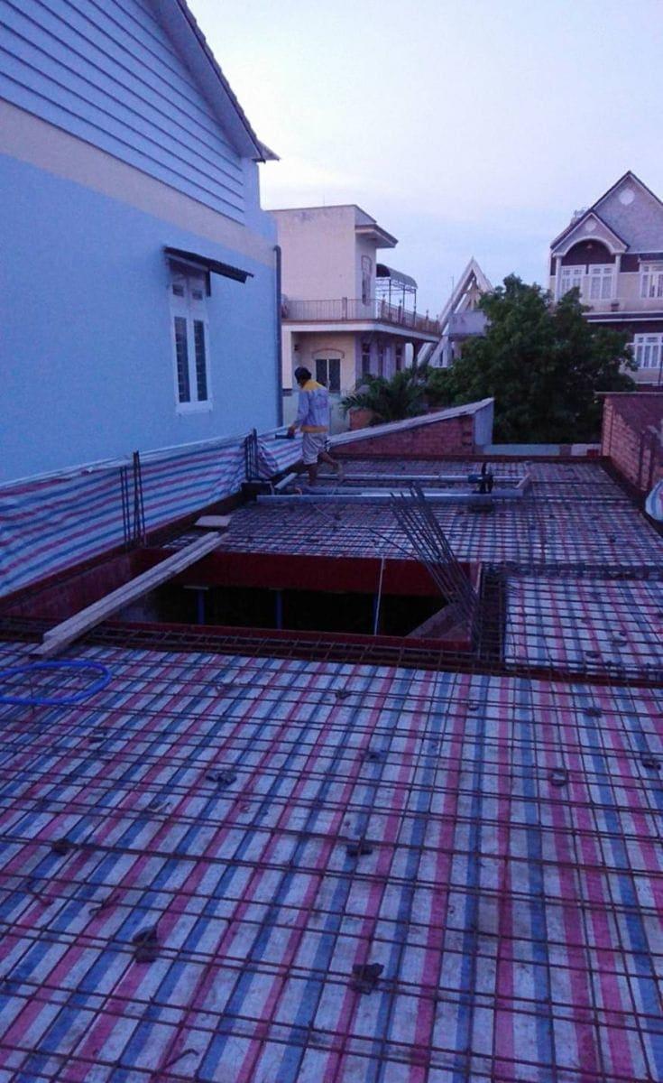 Thi công nhà phố gia đình chú Bốn cô Loan tại Biên Hòa - Đồng Nai - Ảnh công trình 9