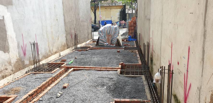 Chuẩn bị công tác đổ bê tông cột dầm sàn