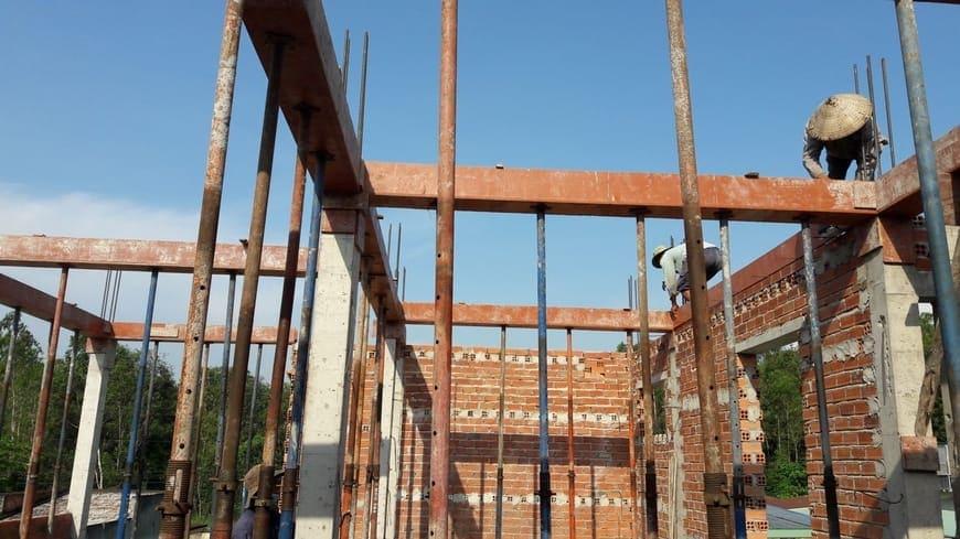 Thi công nhà phố hiện đại 4 tầng Biên Hòa Đồng Nai - Ảnh công trường 16