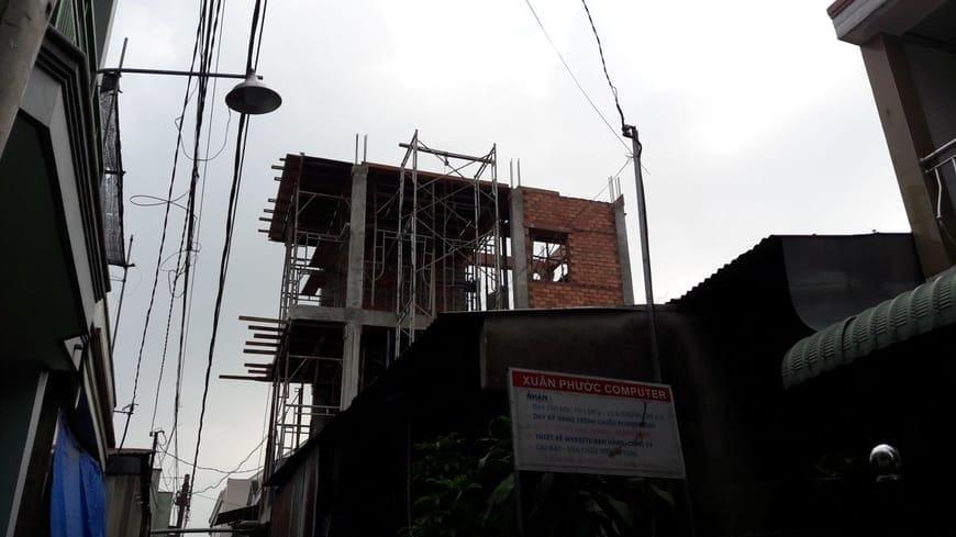Thi công nhà phố hiện đại 4 tầng Biên Hòa Đồng Nai - Ảnh công trường 29