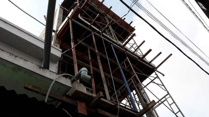 Thi công nhà phố hiện đại 4 tầng Biên Hòa Đồng Nai - Ảnh công trường 26