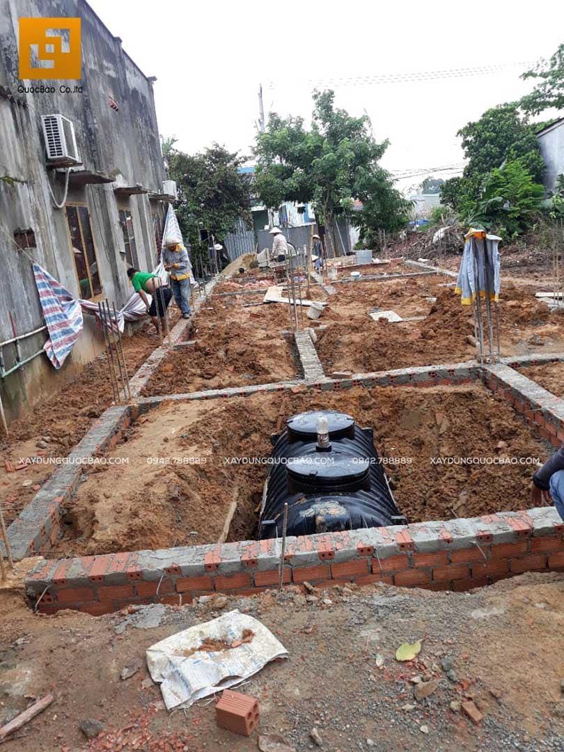 Thi công nhà phố Tân cổ điển tại Biên Hòa - Đồng Nai - Ảnh 2