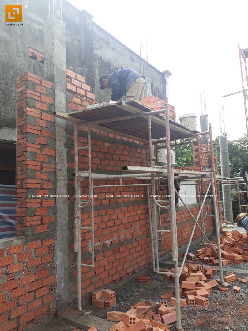 Thi công nhà phố Tân cổ điển tại Biên Hòa - Đồng Nai - Ảnh 20
