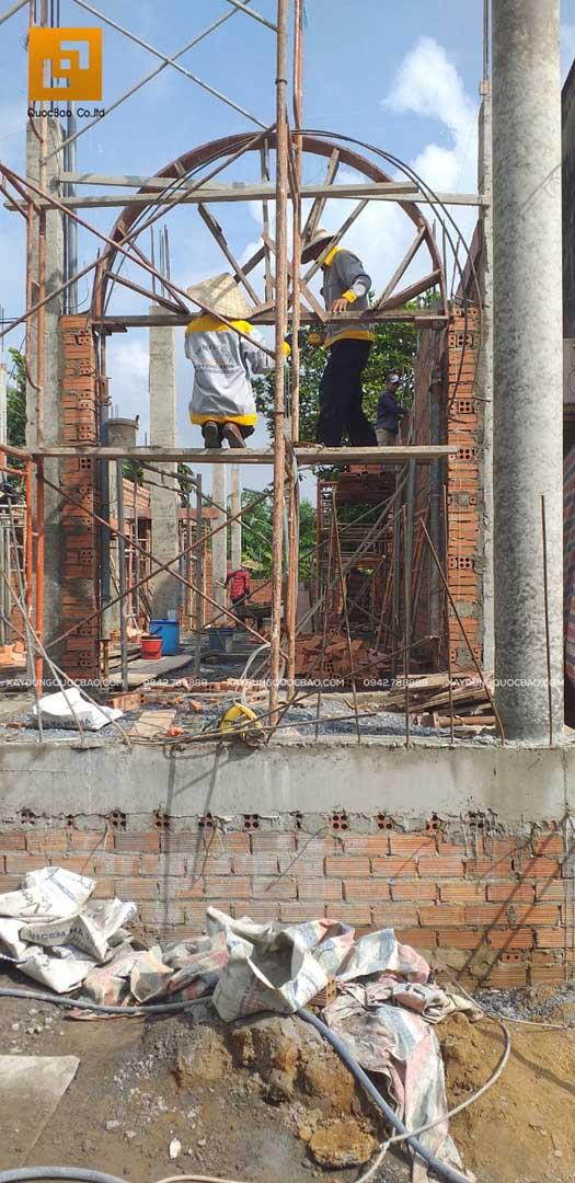 Thi công nhà phố Tân cổ điển tại Biên Hòa - Đồng Nai - Ảnh 16
