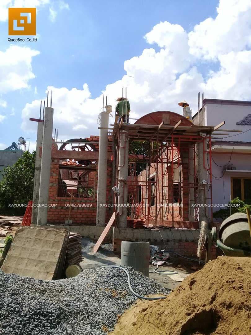 Thi công nhà phố Tân cổ điển tại Biên Hòa - Đồng Nai - Ảnh 19