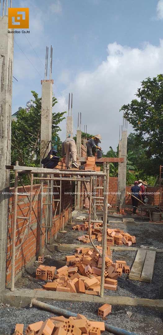 Thi công nhà phố Tân cổ điển tại Biên Hòa - Đồng Nai - Ảnh 13