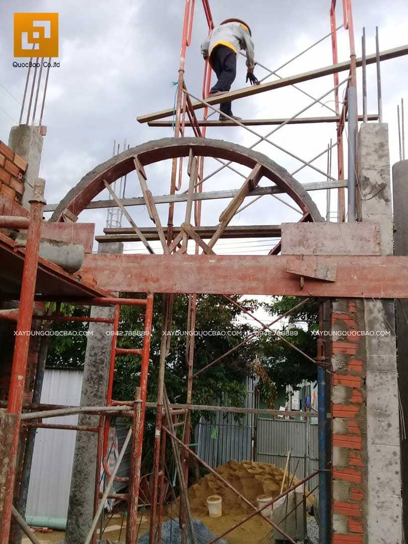 Thi công nhà phố Tân cổ điển tại Biên Hòa - Đồng Nai - Ảnh 17