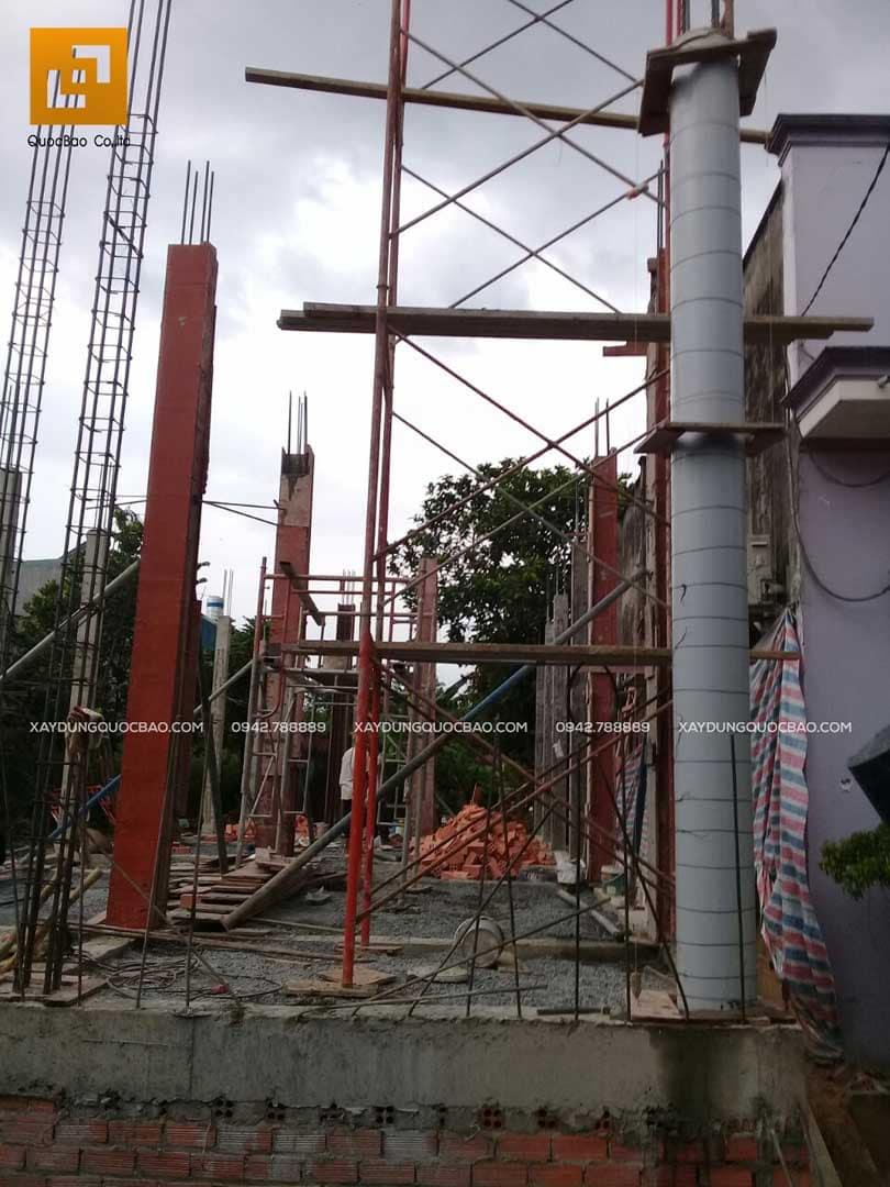 Thi công nhà phố Tân cổ điển tại Biên Hòa - Đồng Nai - Ảnh 11