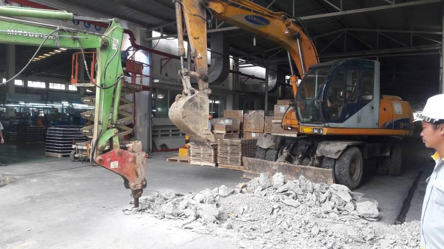 Khởi công cải tạo sửa chữa công ty Vision tại KCN Nhơn Trạch 3 - Đồng Nai - Ảnh 10