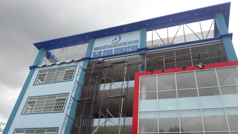 Thi công trường mầm non song ngữ Ánh Sao Xanh tại Biên Hòa - Ảnh 15