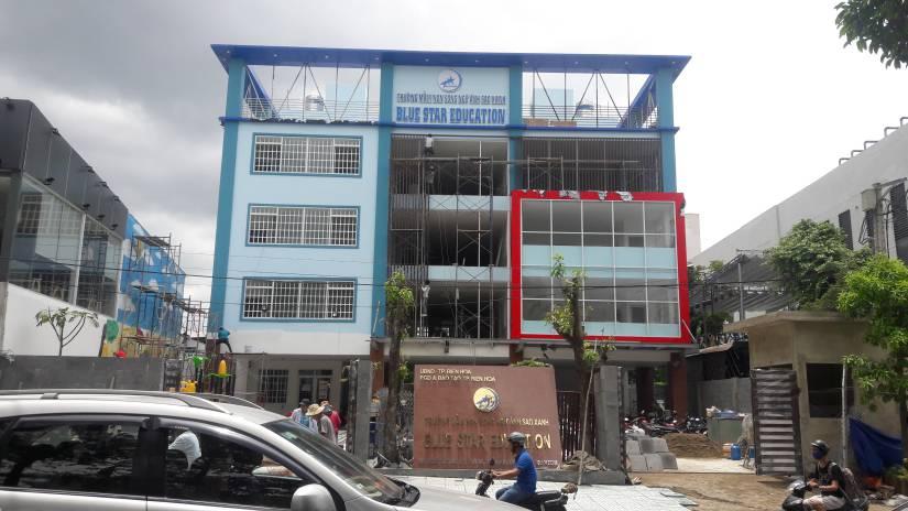 Thi công trường mầm non song ngữ Ánh Sao Xanh tại Biên Hòa - Ảnh 13
