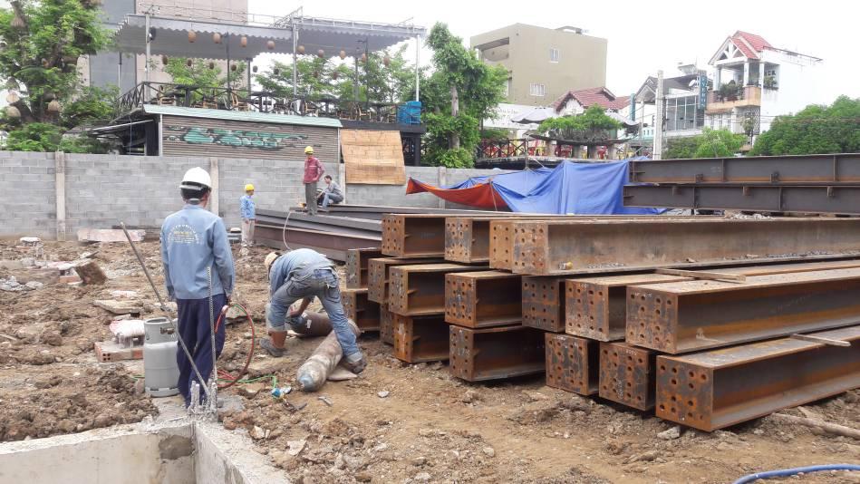 Thi công trường mầm non song ngữ Ánh Sao Xanh tại Biên Hòa - Ảnh 2