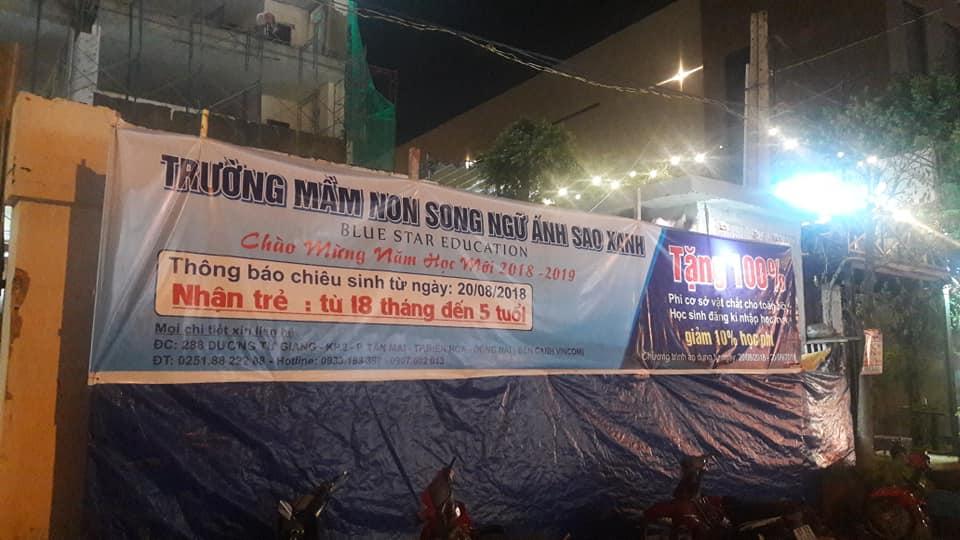 Thi công trường mầm non song ngữ Ánh Sao Xanh tại Biên Hòa - Ảnh 1