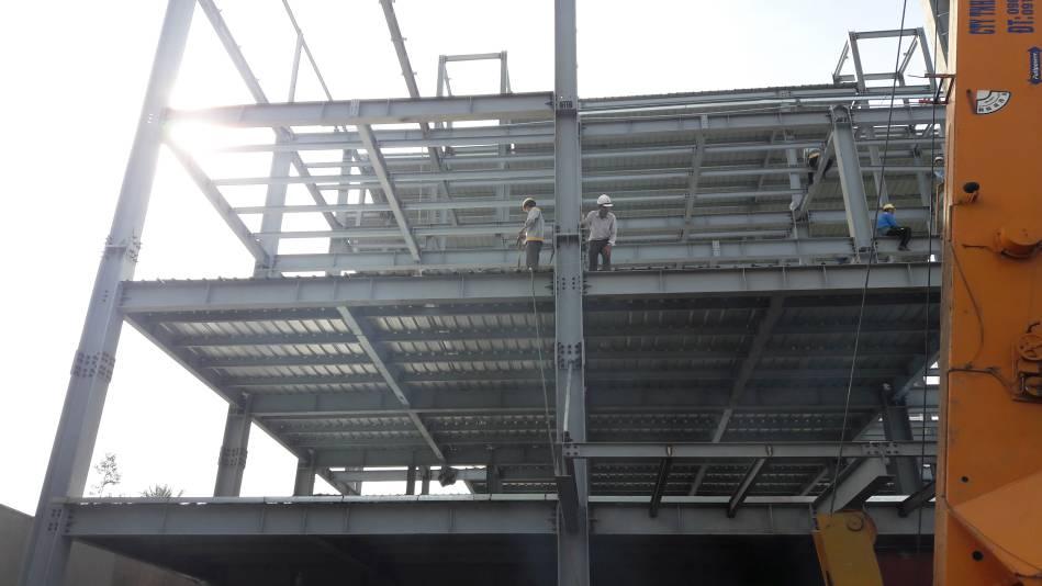 Thi công trường mầm non song ngữ Ánh Sao Xanh tại Biên Hòa - Ảnh 6