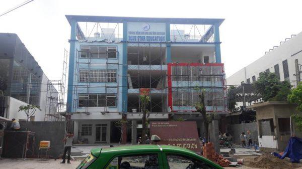 Thi công trường mầm non song ngữ Ánh Sao Xanh tại Biên Hòa - Ảnh 14