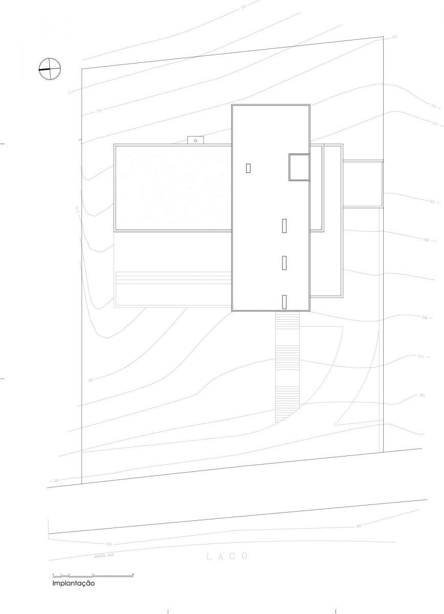 Bản vẽ thiết kế của Villa kết cấu thép - Ảnh 3