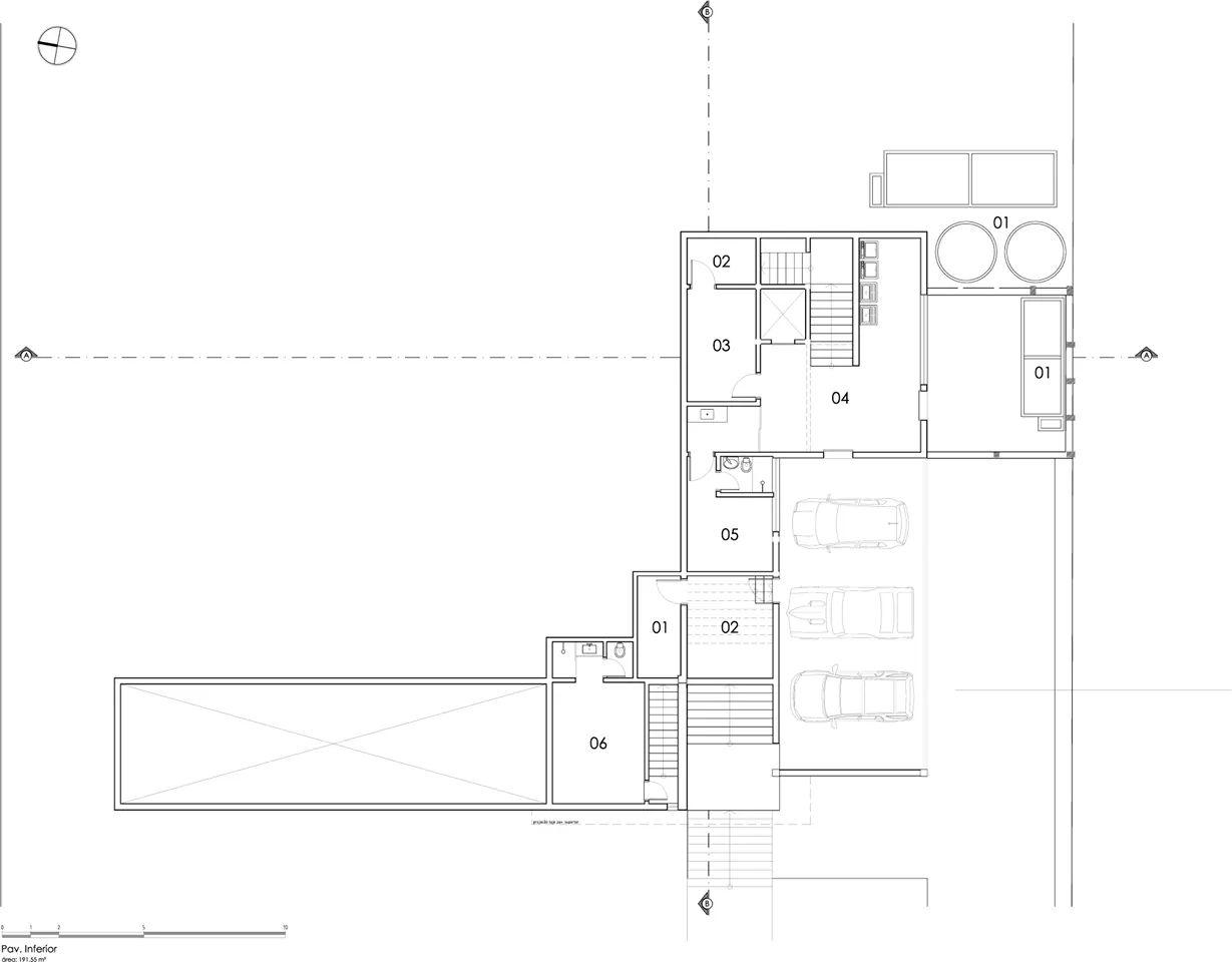Bản vẽ thiết kế của Villa kết cấu thép - Ảnh 2
