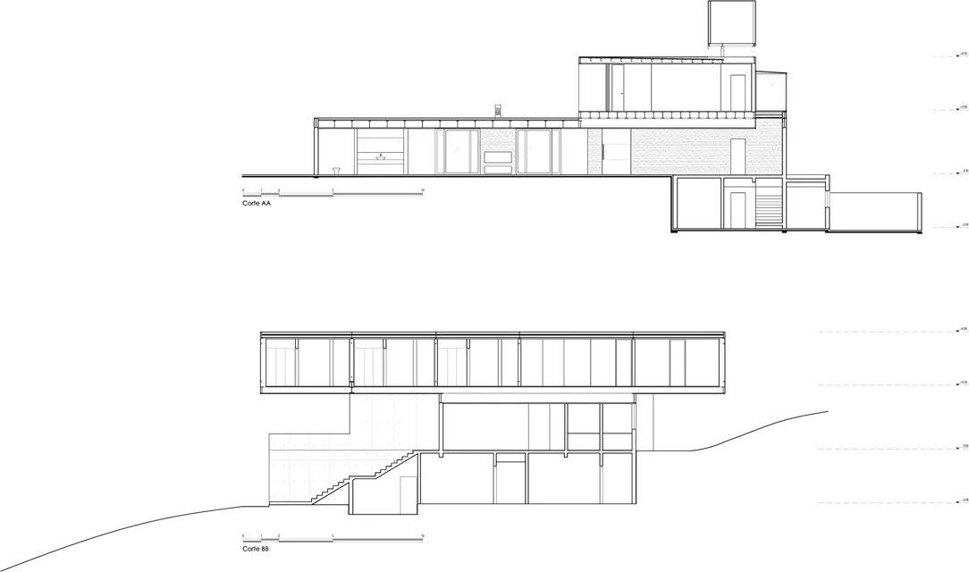 Bản vẽ thiết kế của Villa kết cấu thép - Ảnh 1
