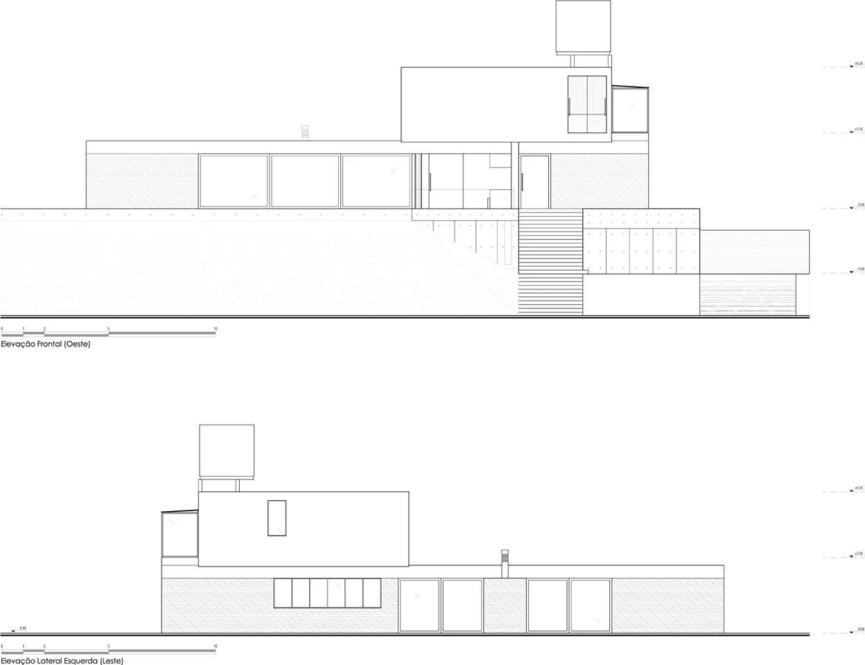 Bản vẽ thiết kế của Villa kết cấu thép - Ảnh 5
