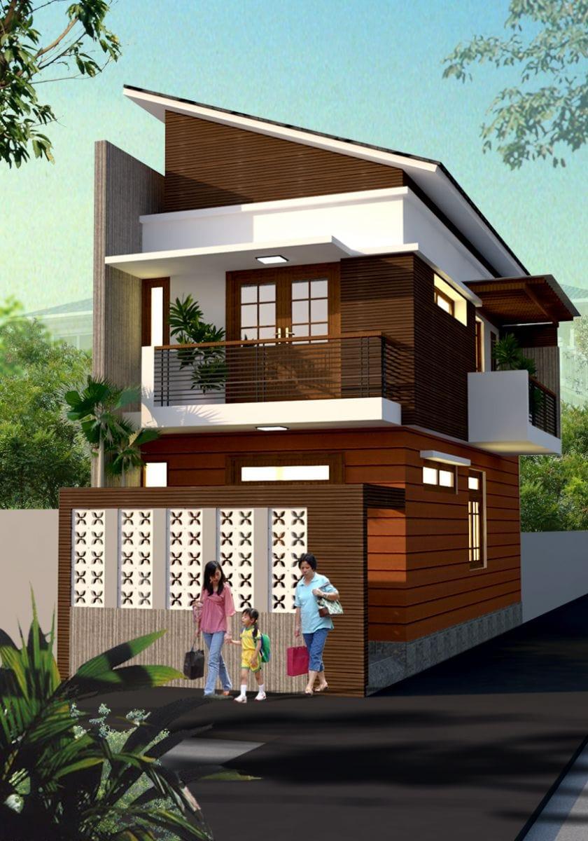 Thiết kế Biệt thự nhà phố chị Liêm