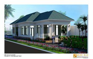 Thiết kế biệt thự nhà vườn Cù lao phố tại Biên Hòa - Đồng Nai