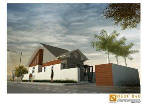 Thiết kế biệt thự sân vườn anh Hà tại Trảng Bom - Đồng Nai