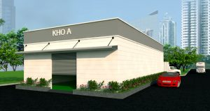 Thiết kế kho lạnh Công ty dược phẩm Shinpoong Daekwoo tại KCN Biên Hòa 2 - Đồng Nai