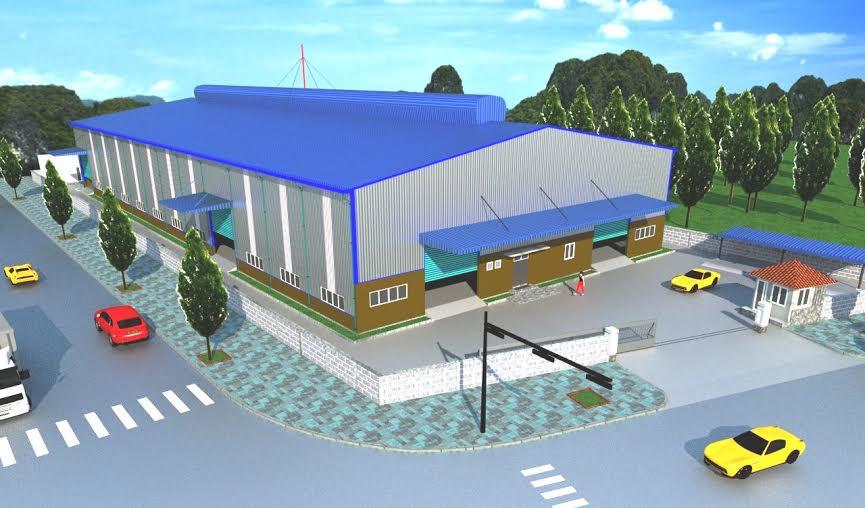Thiết kế lắp đặt nhà xưởng tại Biên Hòa - Đồng Nai