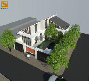 Thiết kế Biệt thự nhà vườn hiện đại giá rẻ
