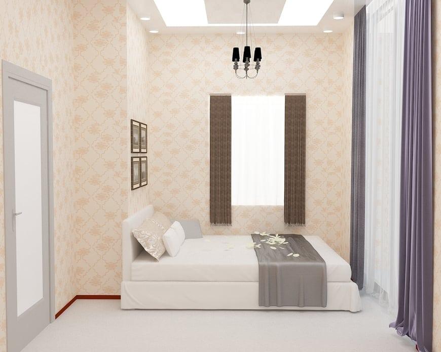 Thiết kế phòng ngủ của cặp vợ chồng trẻ rất trang nhã
