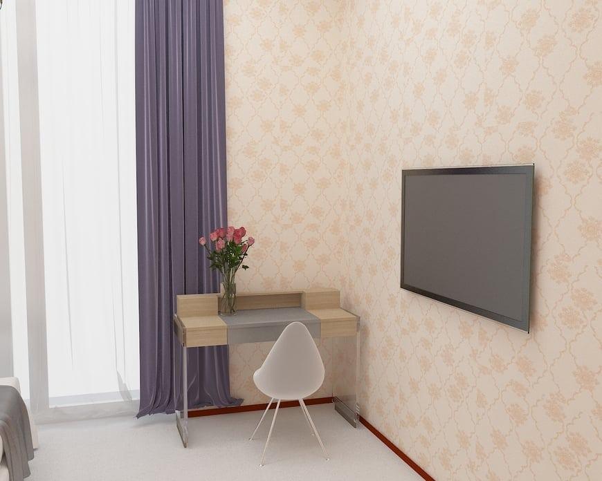 Góc đọc sách bố trí trong phòng của bố mẹ