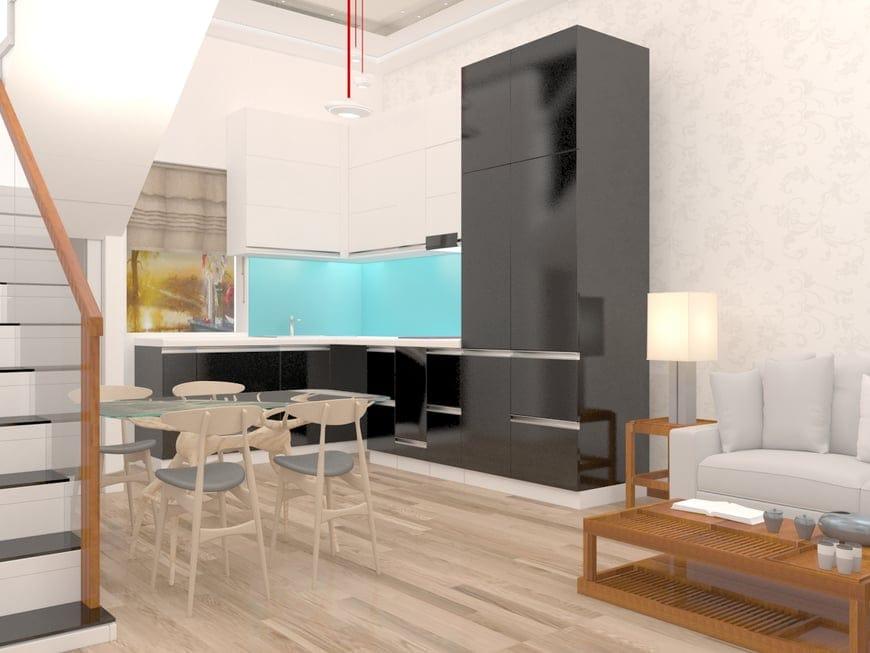 Phòng ăn thiết kế tiện dụng và hiện đại