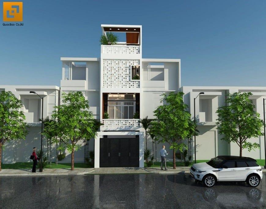 Thiết kế nhà phố Thiếu Tướng Lê Trọng Nghĩa tại phường Long Bình Tân - Biên Hòa - Đồng Nai
